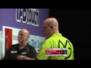 Michael van Gerwen vs David Platt (Perth Darts Masters 2015 / Round 1)
