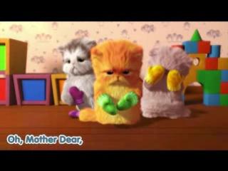 Мультик -песня про милых котят для детишек и любителей.