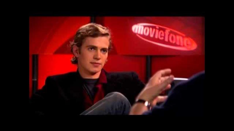 'Star Wars Episode III Revenge of the Sith' Unscripted Hayden Christensen George Lucas