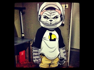 Рэпер L'One и его кот Тигра