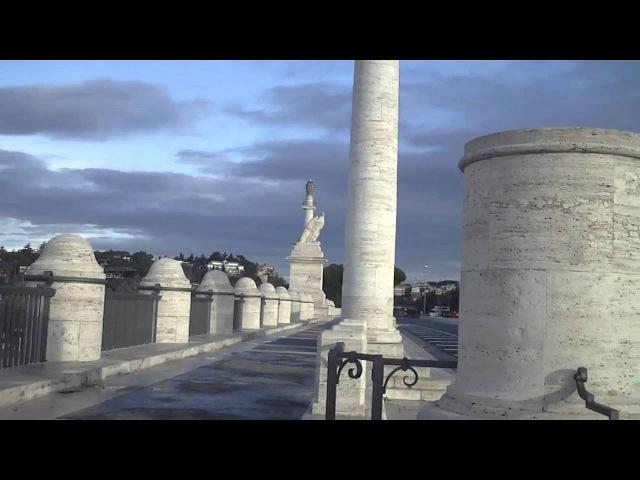 Ponte flaminio / Detto anche ponte XXVIII Ottobre , data della Marcia su roma ( roma )