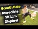 Bale Amazes with Football Skills on Set! - adidas X test