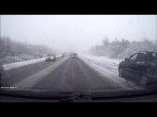 Самарский первый снег