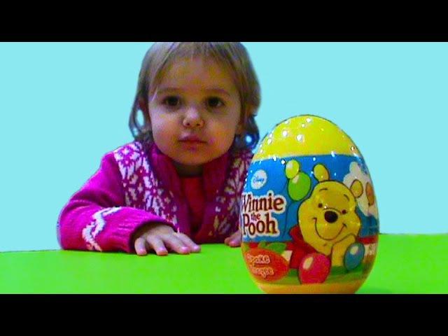 Винни Пух яйца с сюрпризом Винни и его друзья Winnie l'Ourson oeufs avec surprise Winnie et ses amis
