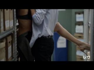 Meghan Markle - Suits (2012) (эротическая постельная сцена из фильма знаменитость трахается голая занимается сексом)