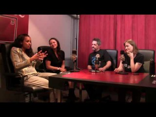 The Mind Reels chats with Dark Matter's Melissa O'Neil and Melanie Liburd Part 3
