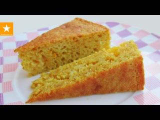 АПЕЛЬСИНОВЫЙ МАННИК - обалденно простой пирог от Мармеладной Лисицы. Рецепт без яиц