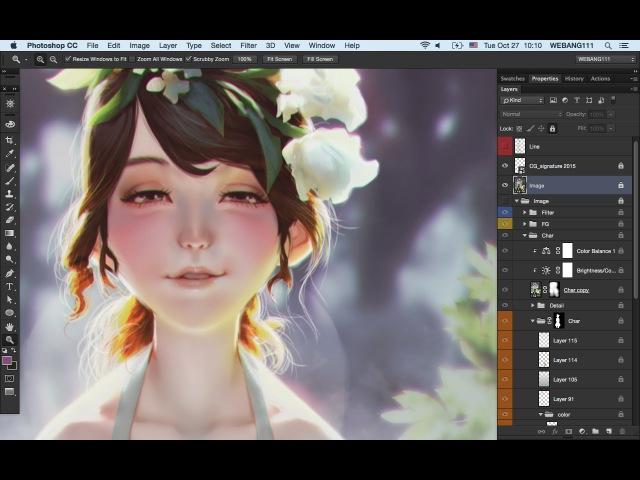 White Roses [Digital Painting]