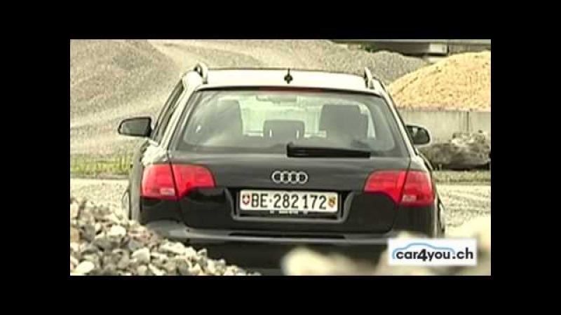 Testbericht Audi A4 Video Fahrbericht Audi A4