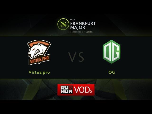VP vs OG, Fall Major, LB Round 4, Game 1