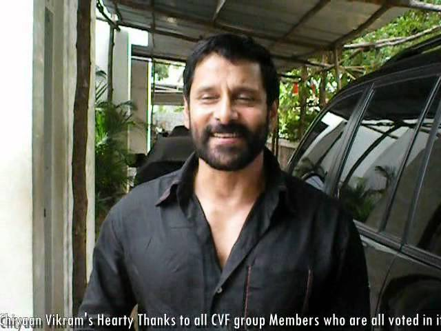 Chiyaan Vikram Special Thanks To our CVF