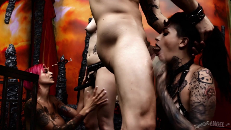 Burning Angel Anna Bell Peaks, Nikki Hearts, Leigh Raven Cindy Queen of Hell: Part 4 Big Tits, Gang Bang,