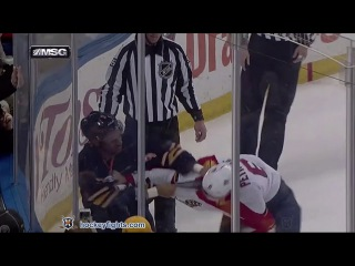 Alex Petrovic vs Evander Kane Feb 9, 2016 - Round 2