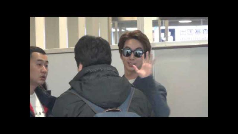 20160109 김형준 Kim Hyung Jun 하네다 공항 출국 羽田空港出国