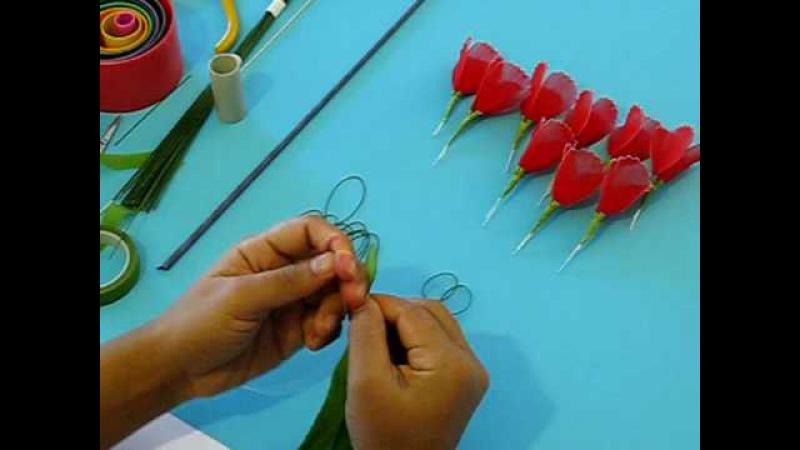Fabrication dun oeillet en collant Nylon Carnation