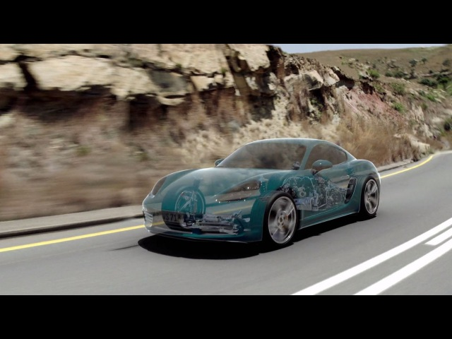 The new 718 Cayman – PTV (Porsche Torque Vectoring)
