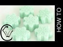 Easy No-Churn Ice Cream Cotton Candy Snowflakes by Cupcake Savvy's Kitchen