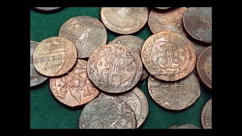 Реставрация окисленных подуставших монет Выпуск 1