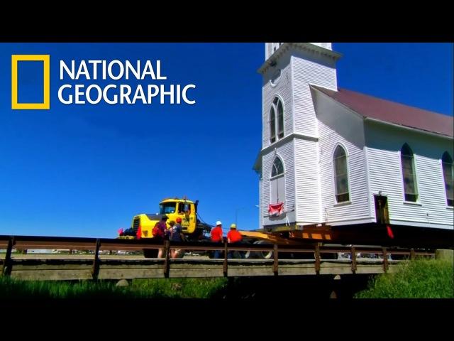 Грандиозные переезды Огромные церкви HD