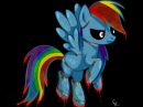 Как сделать из пони аниматроника\\ Speed Paint MLP Rainbow Dash animatronic