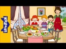 I Don't Like Salad | Learn English for Kids Song by Little Fox
