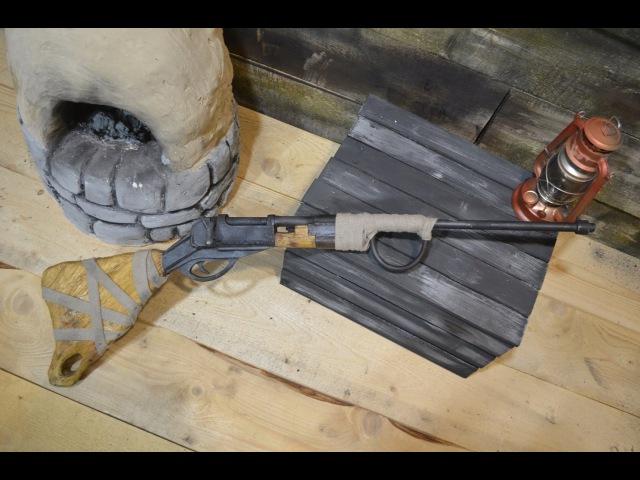 Как сделать болтовку из игры Rust How to make a Bolt from Rust