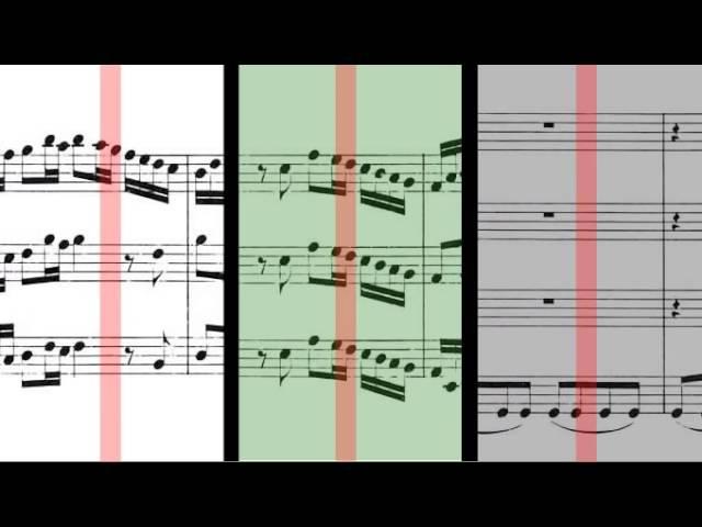 1048 J S Bach Brandenburg Concerto No 3 in G major BWV 1048 Gerubach Scrolling