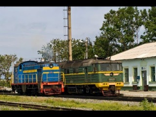 Сахалин 2009 / Sakhalin 2009. Railway travel (RZD, Vzmorie, Tomari)