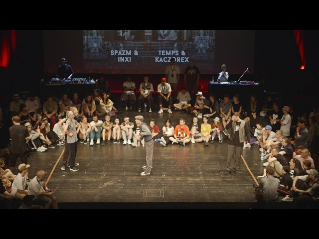 INFINITE FORCE 2016 POPPING SEMI FINAL SPAZM INXI VS KACZOREX TEMP   Danceproject.info