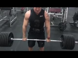 Dead lift 210 kg.