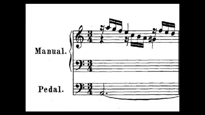 JS Bach / Michel Chapuis, 1961: Prelude in A Minor, BWV 569