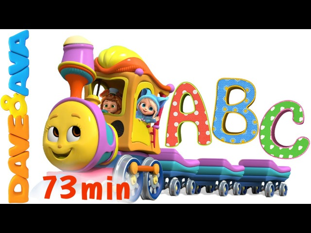 Learn Colors Numbers and ABCs ABC Songs for Kids Alphabet Song Nursery Rhymes from Dave and Ava