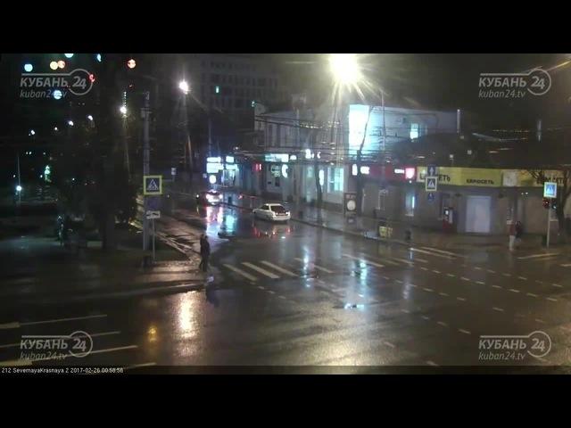 Везучие Краснодарские пешеходы