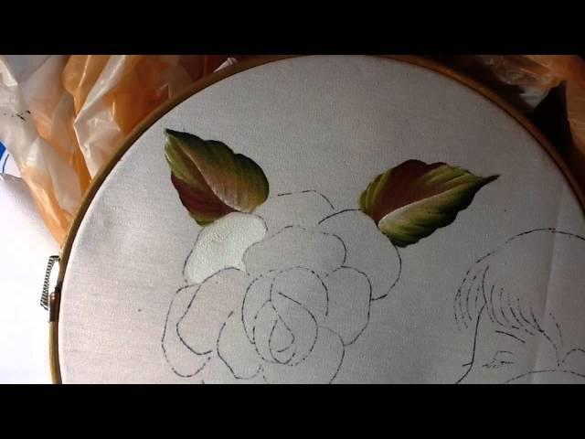 Pintura en tela mama 1 con cony