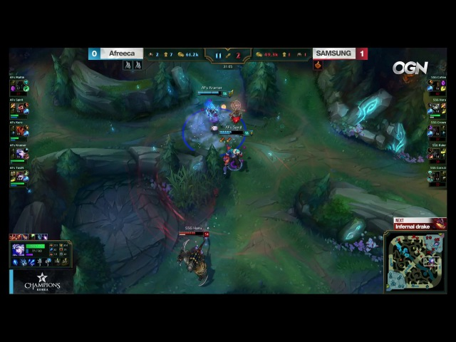 Happy Kramer day SSG Kramer got the penta kill in LCK game2 LCK Spring SSG vs AFS W7D2