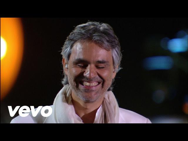Видео Andrea Bocelli - Because We Believe - Live From Studio Ferrante Aporti, Italy 2007 смотреть онлайн