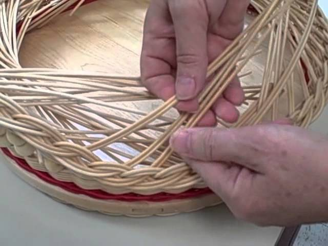 Baskets Weaving a Gretchen Rim