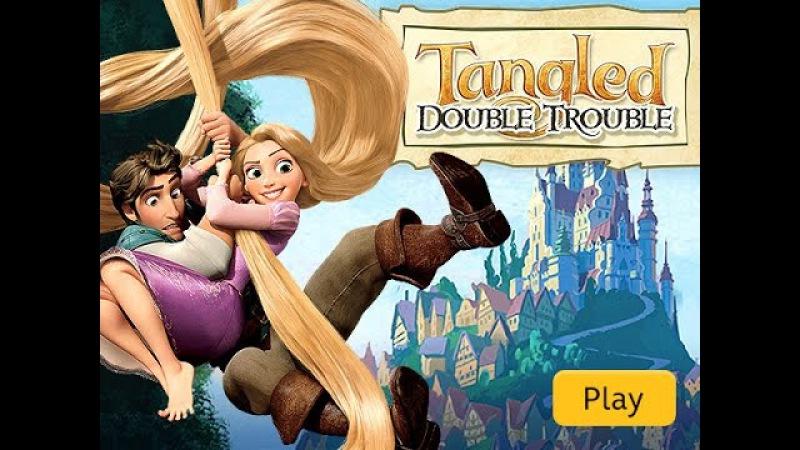 Tangled: Double Trouble | Disney Walkthrough Gameplay - Run away from enemies.