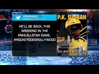 Nhl now: nhl all-stars try acting