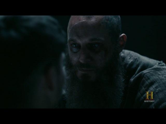 Vikings - Ragnars Final Words To Ivar [Season 4B Official Scene] (4x15) [HD]