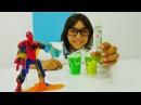 Erkekçocukoyunları Emir Örümcek Adam'ı Mutajel ile iyileştiriyor çizgifilmoyuncakları
