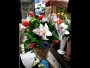корзина с орхидеями