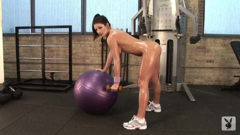 playboy naked workout