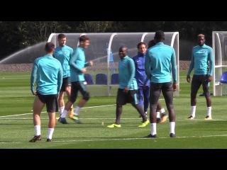 Chelsea Train Ahead Of Champions League Clash With Qarabag