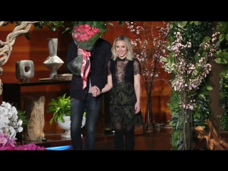 Kristen Bell and Dax Shepard Talk Celebrity Crushes RUS SUB