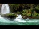 Расслабляющая музыка Звуками природы Красивейший водопад HD