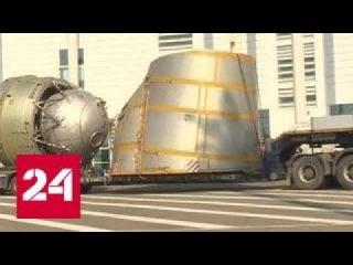 """Космический корабль """"Буран"""" прибыл в Сочи по морю"""