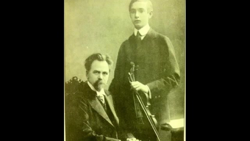 Joseph Szigeti Two Pieces by Elgar