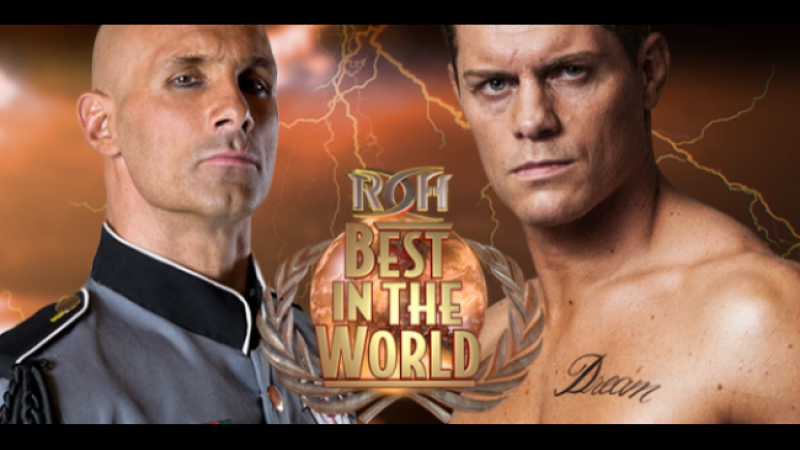 Christopher Daniels vs Cody Rhodes ROH BITW 2017 Highlights