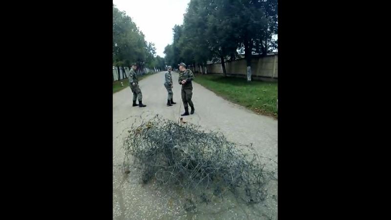 Командир отделения гвардия рядовой Буренин